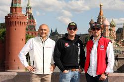 Press conference, Gabriele Tarquini, Chevrolet Cruze 1.6T, RML