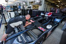 Strakka Racing team member at work