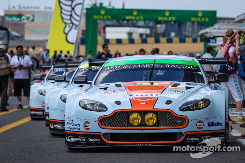 Aston Martin Racing Aston Martin Vantage GTE wagens