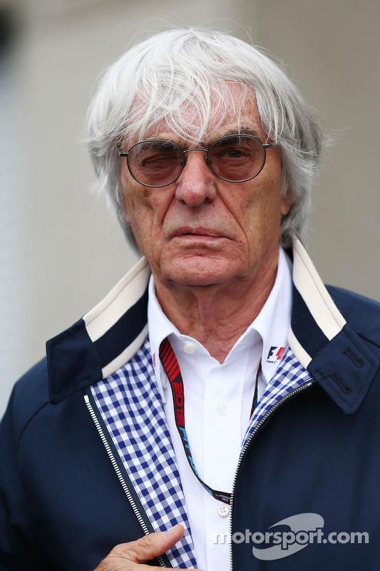 Bernie Ecclestone, CEO do Formula One Group (FOM)