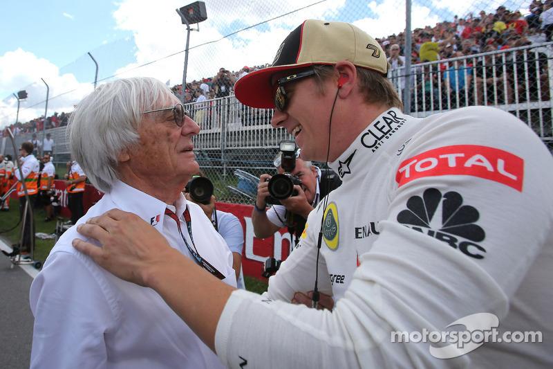 Bernie Eeclestone, Lotus F1 Team
