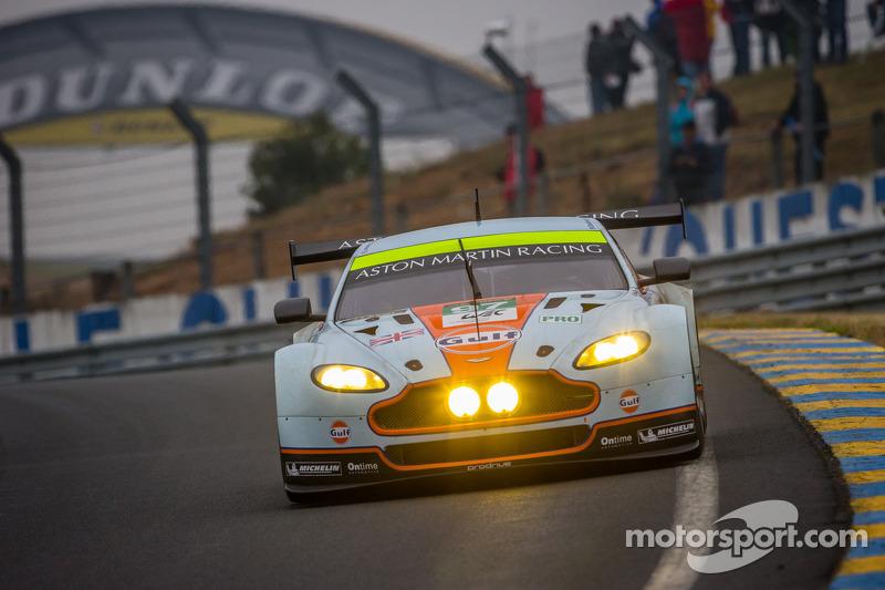 #97 Aston Martin Racing Aston Martin Vantage GTE: Darren Turner, Stefan Mücke, Peter Dumbreck, Jonny