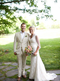 Trevor Bayne and Ashton Clapp get married