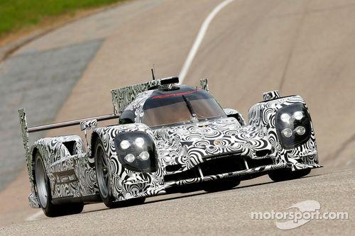 Porsche LMP1 shakedown