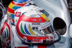 Helmets of Tom Kristensen, Allan McNish, Loic Duval