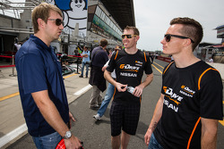 Ryan Dalziel, John Martin and Mike Conway