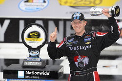 Race winner Regan Smith