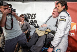 Patrick Dempsey with fans