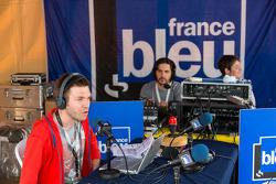 Radio broadcast from Scrutineering