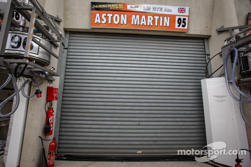 Een triste dag voor Aston Martin Racing en de autosportwereld