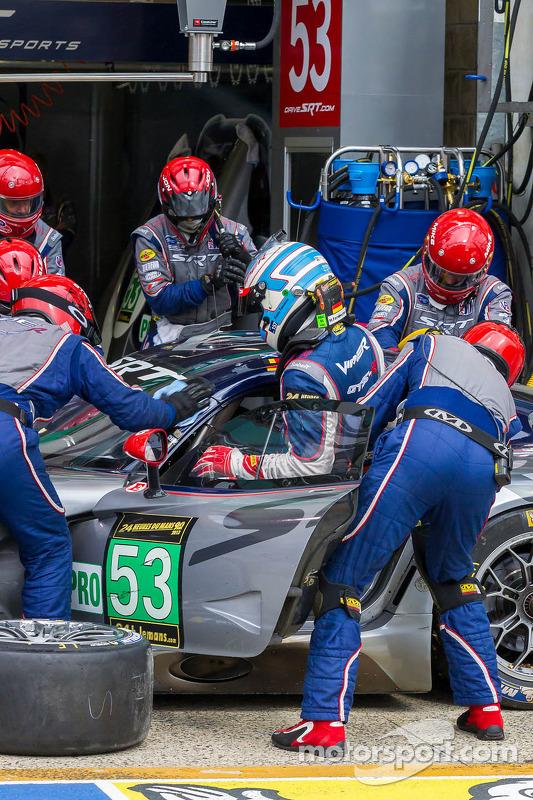 Mudança driver para o #53 SRT Viper SRT Motorsports GTS-R: Ryan Dalziel, Dominik Farnbacher, Marc Go