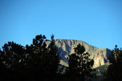 summit de Pikes Peak as seen do start