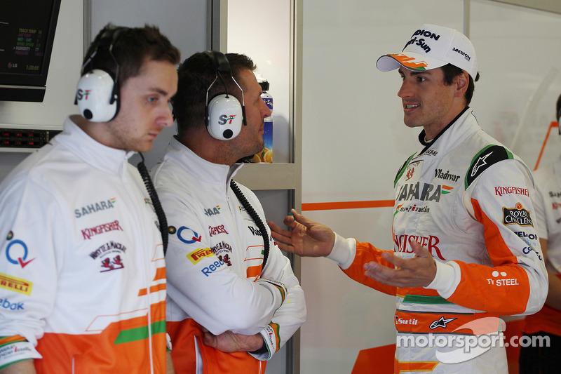 Adrian Sutil, Sahara Force India F1