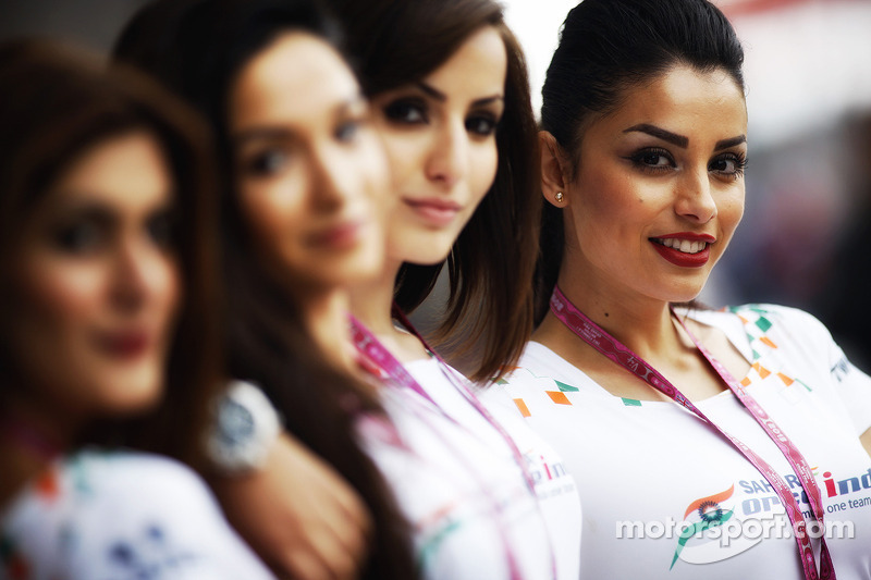 Sahara Force India F1 Team Speed Divas