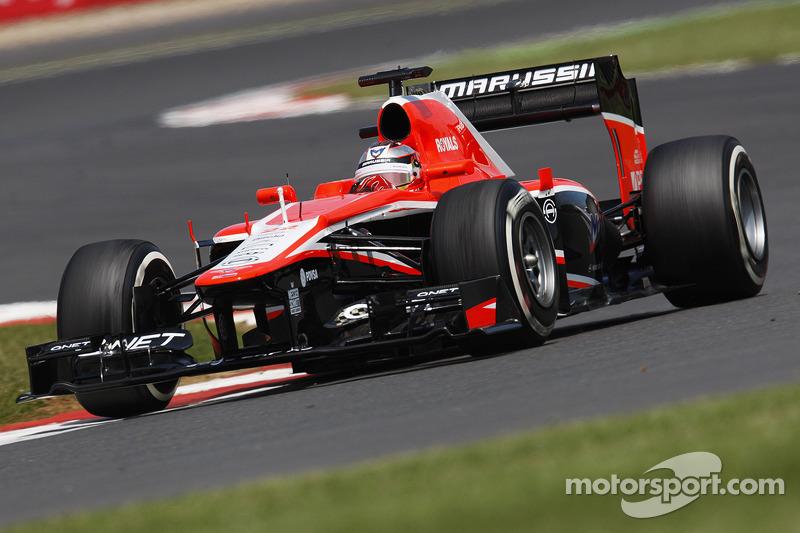Jules Bianchi Marussia F1 Team MR02
