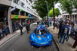 SuperCars pronto para as desfile