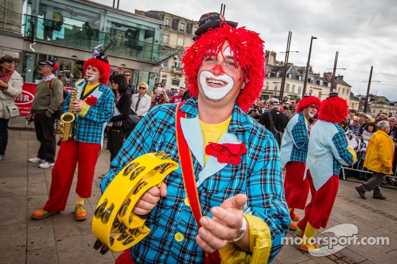 Een blije clown