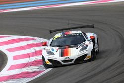 #12 ART Grand Prix: Yann Goudy, Gilles Vannelet, Gregoire Demoustier, McLaren MP4-12C
