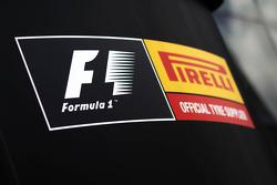 Logotipo de Pirelli F1