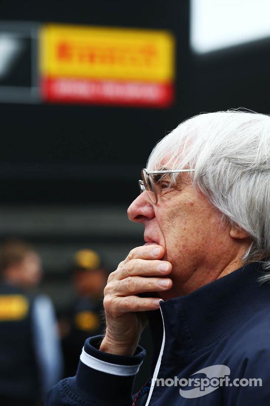 Bernie Ecclestone, CEO do Formula One Group