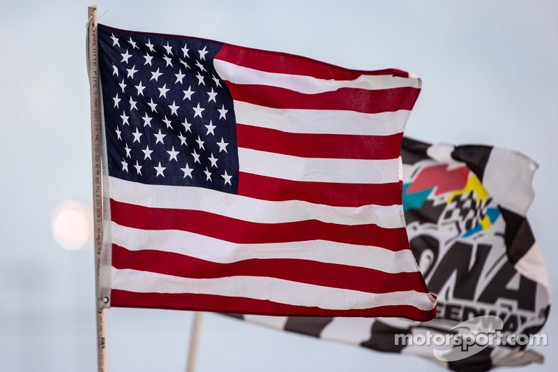 Amerikaanse vlag in Daytona