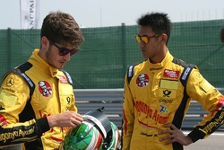 Sean Gelael and Antonio Giovinazzi
