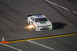 Joey Gase comes onto pit road