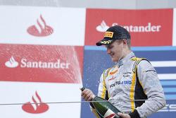 Podio: ganador de la carrera Marcus Ericsson