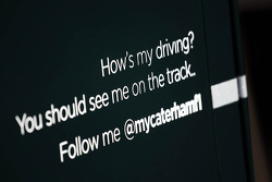 Caterham F1 Team Twitter logo