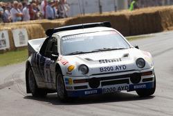 Ian Gwynne im Ford RS200