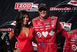 Scott Dixon, Target Chip Ganassi Racing Honda Target Chip Ganassi Racing with a Toronto Sun Girl