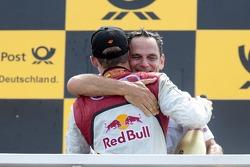 Mattias Ekström, Audi Sport Team Abt Sportsline, Audi A5 DTM and Hans-Jurgen Abt, Team manager Abt-Audi