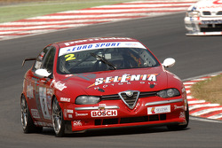 Ex Stefano Modena 1998 Itallian Super Touring Alfa Romeo 156 driven by Neil Smith