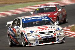 Ex Laurent Aiello BTCC championship winning 1999 Super Touring Nissan Primera driven by Derek Palmer
