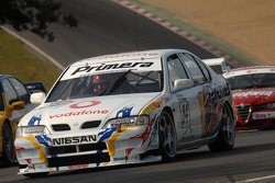 Ex David Leslie 1997 Super Touring Nissan Primera driven by Richard Hawken