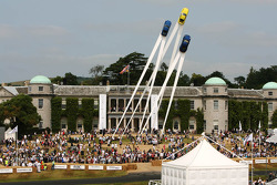 Monumento del Porsche 911 en Goodwood