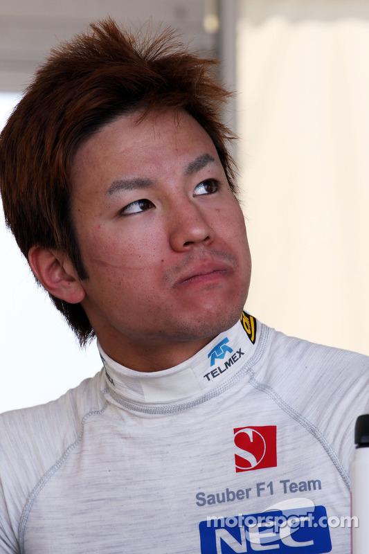 Kimiya Sato, Sauber Piloto de teste