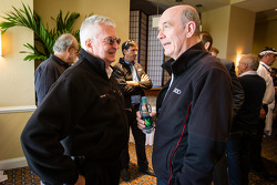 Alex Job and Dr. Wolfgang Ullrich