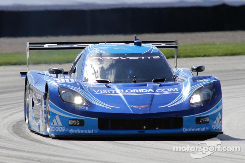 #90 Spirit Of Daytona Corvette DP: Richard Westbrook, Ricky Taylor