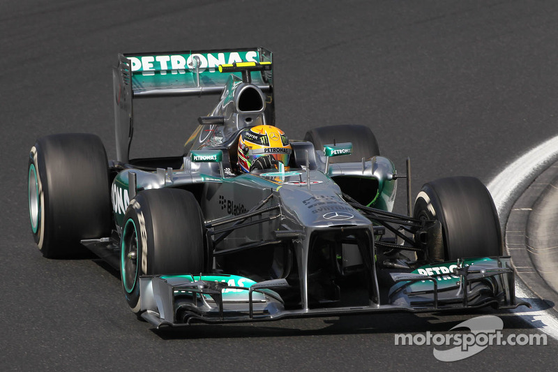 2013: Льюис Хэмилтон, Mercedes F1 W04