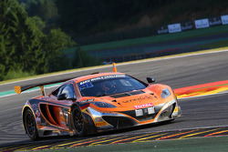 #77 MRS GT Racing McLaren MP4-12C: Carlos Kray, Justino Azcarate