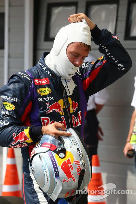 segundo lugar para Sebastian Vettel, Red Bull Racing RB9