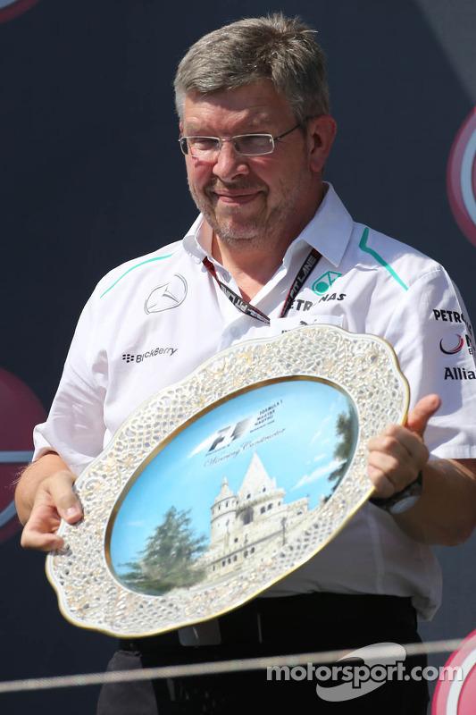 Ross Brawn, Mercedes GP, Diretor Técnico