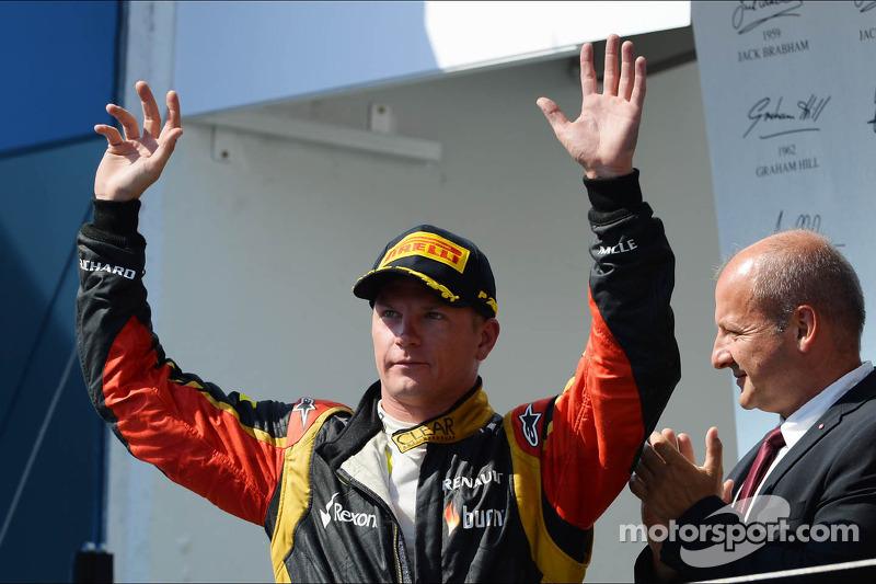 Raikkonen, igualado con Senna y Schumacher en podios