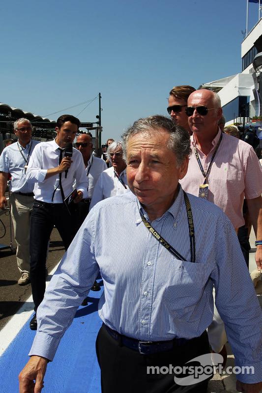 Jean Todt, Presidente da FIA no grid