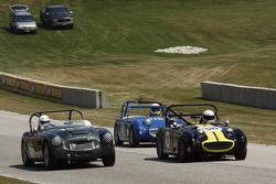 #133 1961 Austin Healy 3000:Dan Powell #38 1959 Austin Healy Sprite Mk I: Grant Gongoll #119 1960 Austin Healy: Terry Davis