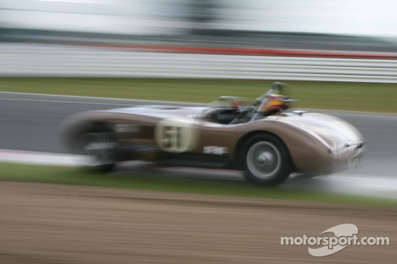 Young/Ward, Jaguar C-Type