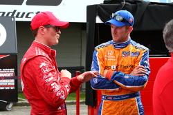 Scott Dixon and Charlie Kimball