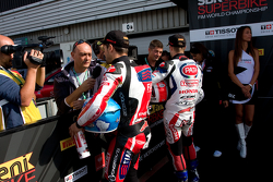 Jonathan Rea and Carlos Checa