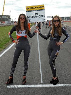 Grid Girls to Tom Onslow-Cole